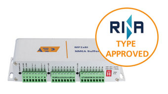 Type Approved NMEA Buffer; MP2x8i
